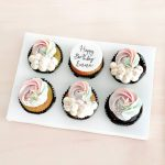 Customised-cupcakes-singapore-free-delivery-rainbow-cupcakes